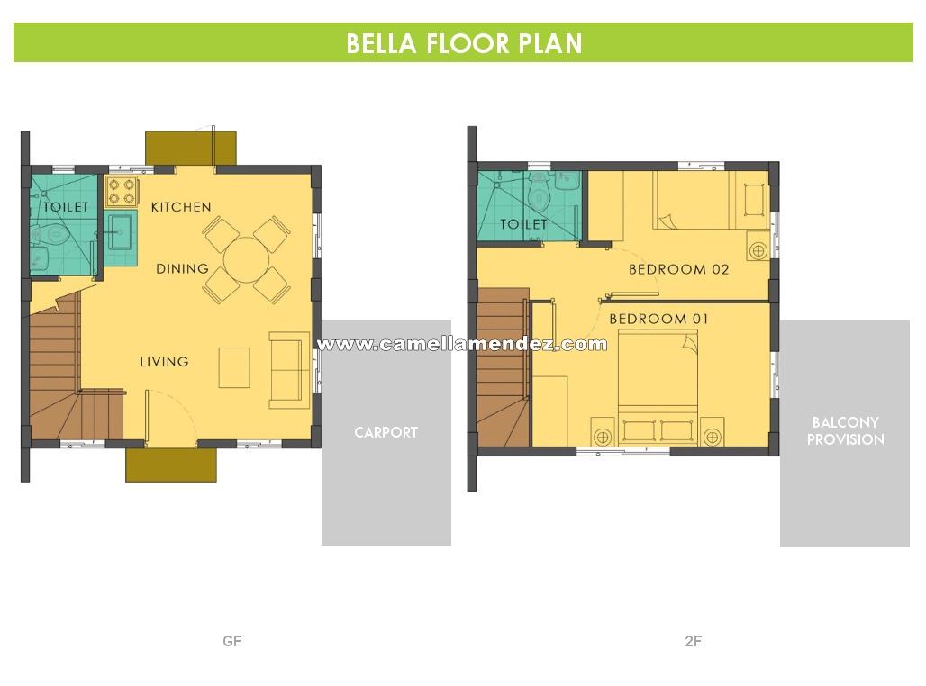 Bella  House for Sale in Mendez, Cavite