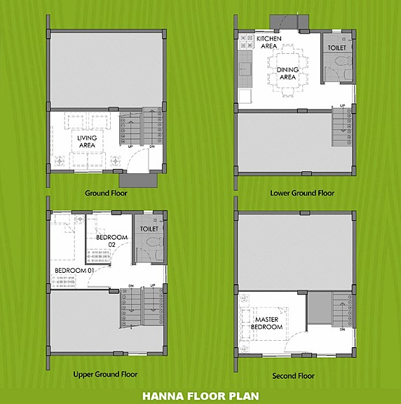 Hanna Floor Plan House and Lot in Mendez