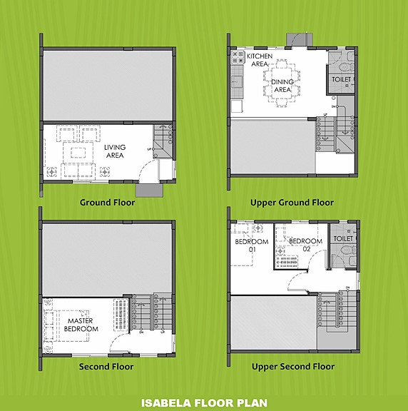 Isabela Floor Plan House and Lot in Mendez